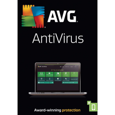 AVG AntiVirus - 1-Year / 3-PC - Global (KEYCODE)