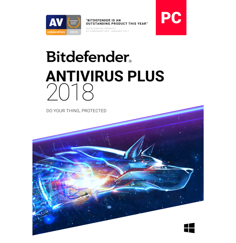 Bitdefender Antivirus Plus - 1-Year / 1-PC [KEYCODE]