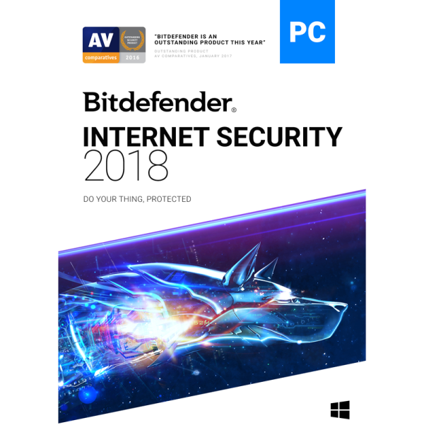 Bitdefender Internet Security - 1-Year / 1-PC [KEYCODE]