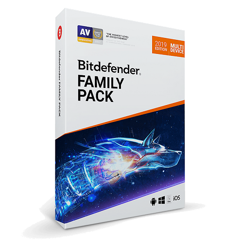 Bitdefender Family Pack - 1-Year / Unlimited Devices [KEYCODE]