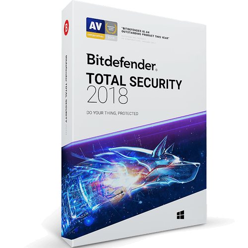 Bitdefender Total Security - 1-Year / 1-Device [KEYCODE]