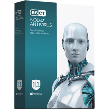 ESET - NOD32 Antivirus Home - 1-Year / 3-Seat - North America [KEYCODE]