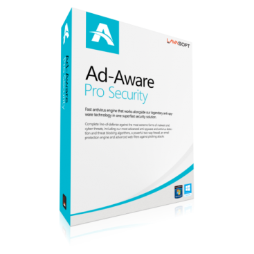 Lavasoft Ad-Aware Pro Security - 1-Year / 1-PC [KEYCODE]