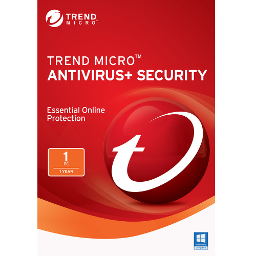Trend Micro Antivirus+ (2018) - 1-Year / 1-PC