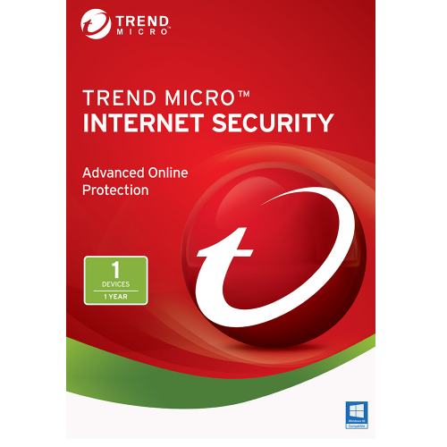 Trend Micro Internet Security (2018) - 1-Year / 1-PC