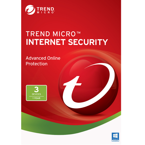 Trend Micro Internet Security (2018) - 1-Year / 3-PC