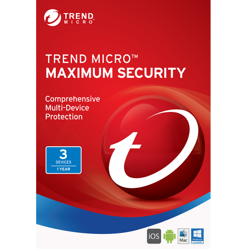 Trend Micro Maximum Security (2018) - 1-Year / 3-Devices