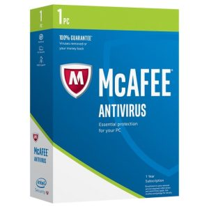 McAfee AntiVirus - 1-Year / 1-Device - Global